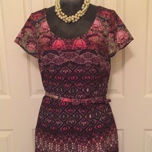 David Meister Dresses - David Meister print dress size 10